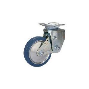 シシク 緩衝キャスター 固定 200径 スーパーソリッド車輪 シシクSISIKUアドクライス(株 (SAK-TO-200SST) (353-5312)