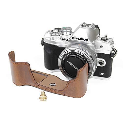 対応 Olympus オリンパス PEN OM-D EM10 Mark IV カメラ バッグ カメラ ケース 、Koowl  (コーヒー色)|tatsunoya|02