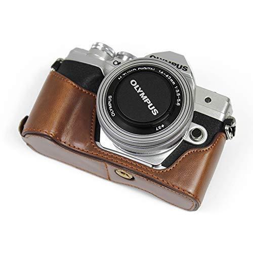 対応 Olympus オリンパス PEN OM-D EM10 Mark IV カメラ バッグ カメラ ケース 、Koowl  (コーヒー色)|tatsunoya|04