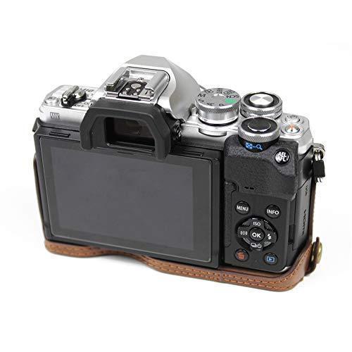 対応 Olympus オリンパス PEN OM-D EM10 Mark IV カメラ バッグ カメラ ケース 、Koowl  (コーヒー色)|tatsunoya|05