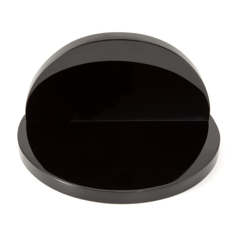 輪島塗 半月台 黒