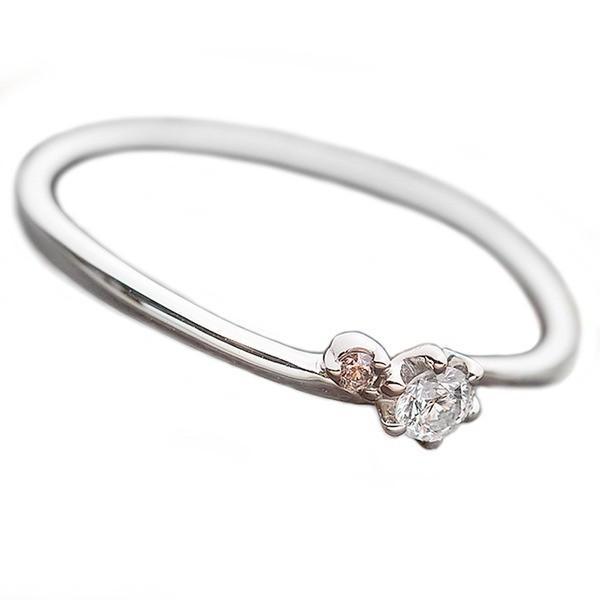 低価格の ダイヤモンド リング ダイヤ ピンクダイヤ 合計0.06ct 12.5号 プラチナ Pt950 指輪 ダイヤリング 鑑別カード付き, sisnext e050be9d