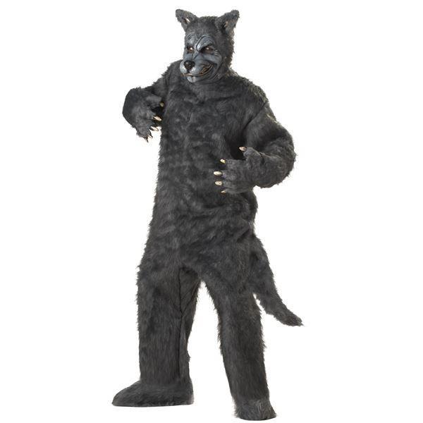 コスプレ衣装/コスチューム California Costumes Big Bad Wolf 〔ボディスーツ・マスク・足・靴〕