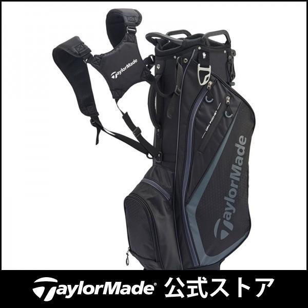 テーラーメイド(TaylorMade Golf) TM セレクトプラス スタンドバッグ/ブラック/チャコール /JJJ45 /N77278