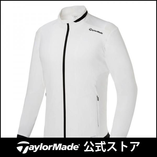 テーラーメイド(TaylorMade Golf) 【メンズ】 ベーシックスタンドカラーウインドジャケット/ホワイト /KY476 /U24843