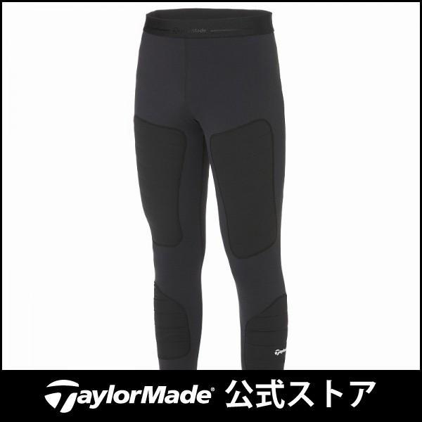 テーラーメイド(TaylorMade Golf) 【メンズ】 ウォームムーブメントベースレイヤータイツ/ブラック /KY500 /U24906