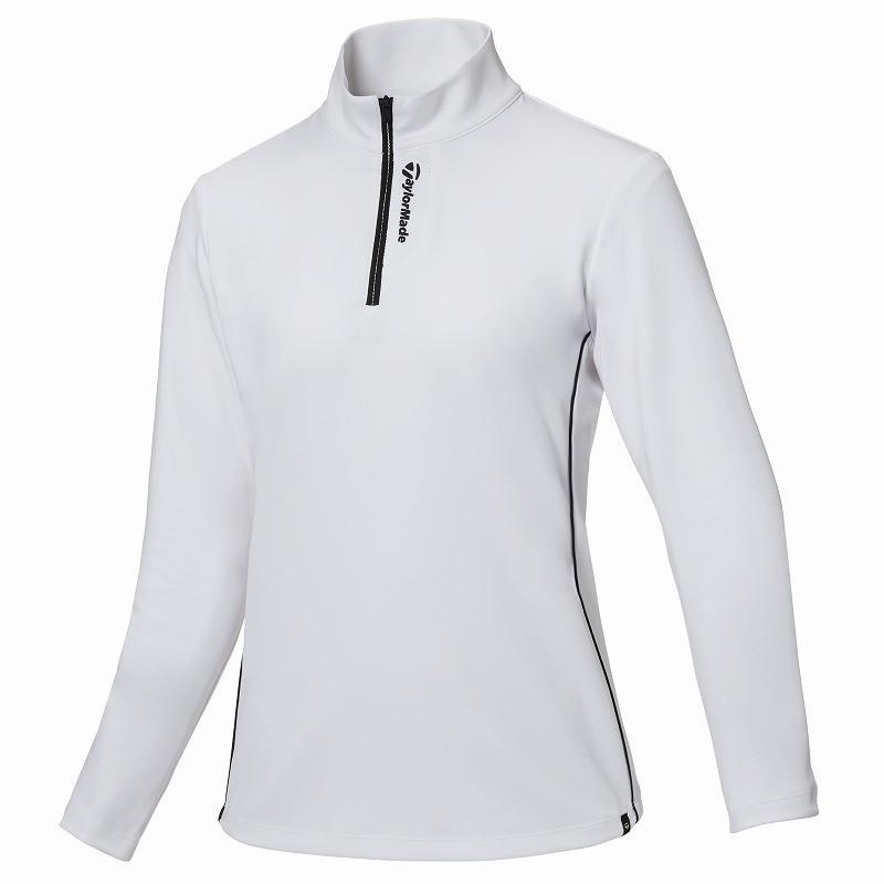 テーラーメイド(TaylorMade Golf) 【ウィメンズ】 ハーフジップ L/S モック/ホワイト /KY510 /U24928