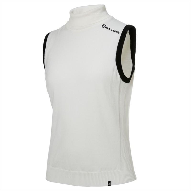 テーラーメイド(TaylorMade Golf) 【ウィメンズ】 ハイネック セーターベスト/ホワイト /KY551 /U32539