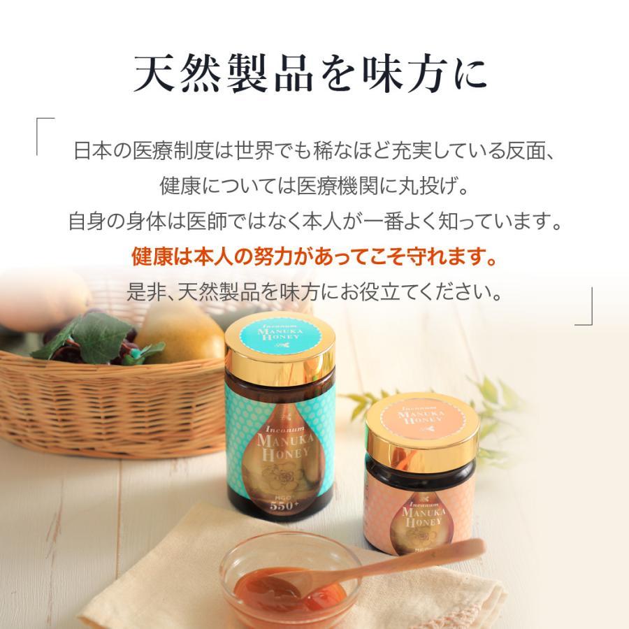 マヌカハニー MGO550+ インカナム マヌカハニー モンドセレクション金賞受賞 はちみつ 500g AMN22-500|tcn3|13