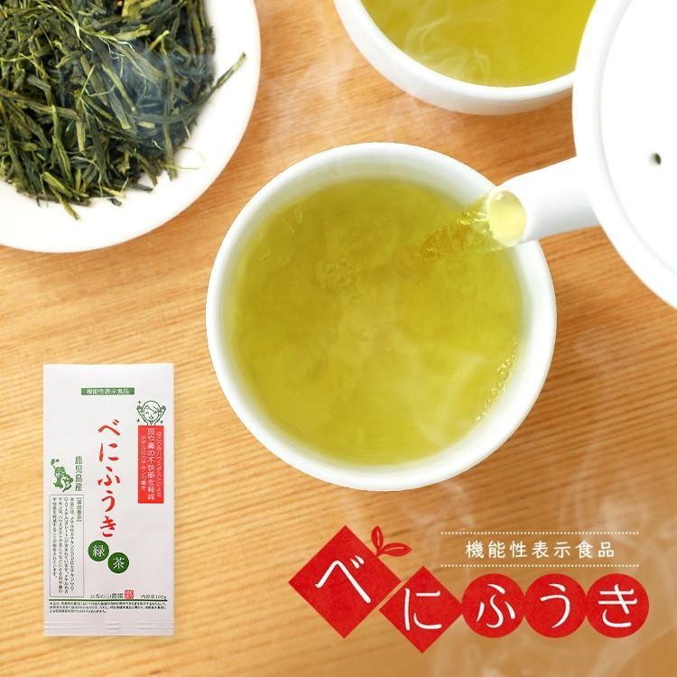 べにふうき茶 緑茶 機能性表示食品 鹿児島産 茶葉 100g 粉末50g お茶 tea-sanrokuen 20