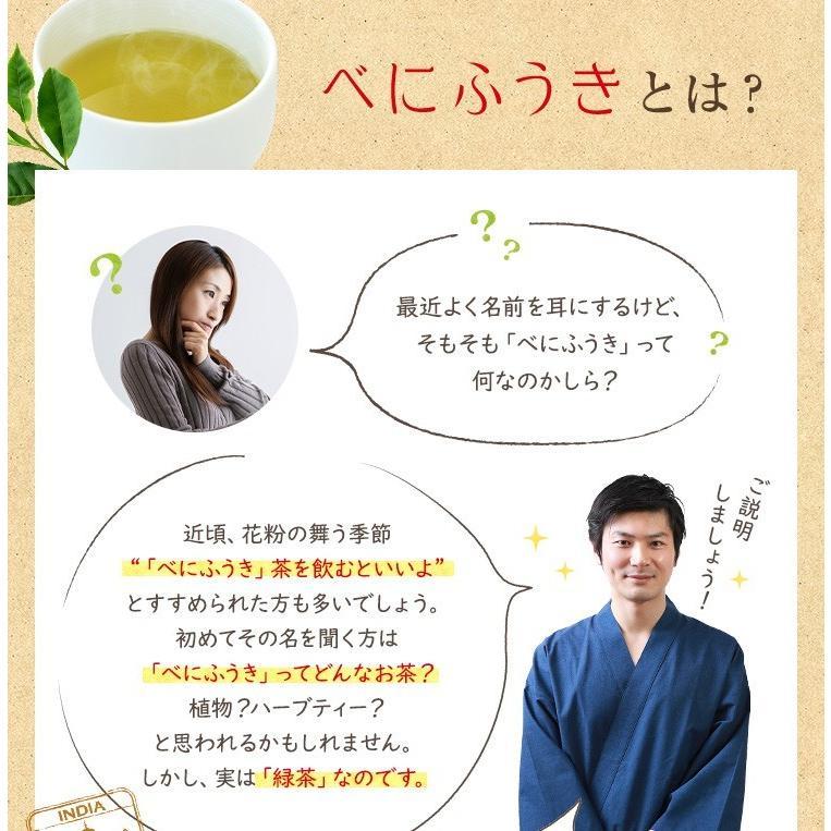 べにふうき茶 緑茶 機能性表示食品 鹿児島産 茶葉 100g 粉末50g お茶 tea-sanrokuen 05