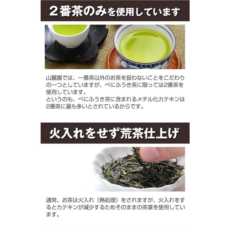 べにふうき茶 緑茶 鹿児島産 茶葉 100g  粉末 50g(増量中) 3個以上 送料無料 お茶|tea-sanrokuen|04