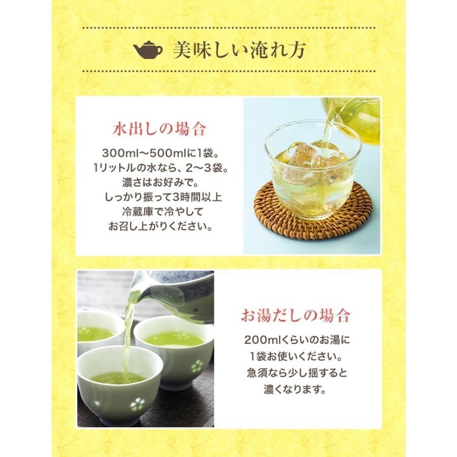 ティーパック お茶 ティーバッグ 緑茶 2.5g×100個 熊本産一番茶100% 水出し お湯だしOK|tea-sanrokuen|06