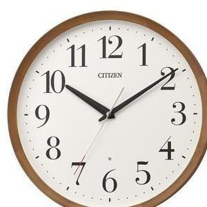 【3セット】 リズム時計 電波掛時計 茶色 8MY535-006 [8MY535006] お取り寄せ[10000円アマゾンギフト付]