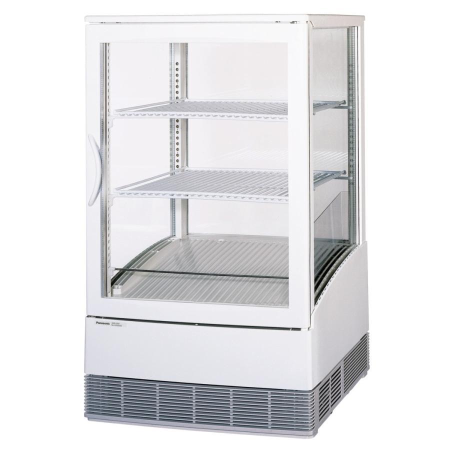 卓上型冷蔵ショーケース SMR-C65F | 4-33-032-0088