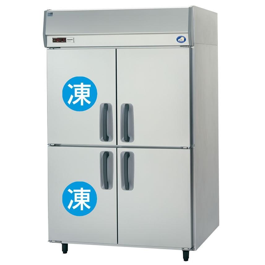 縦型冷凍冷蔵庫 4枚扉 冷凍2室 SRR-K1283C2   4-33-032-0052