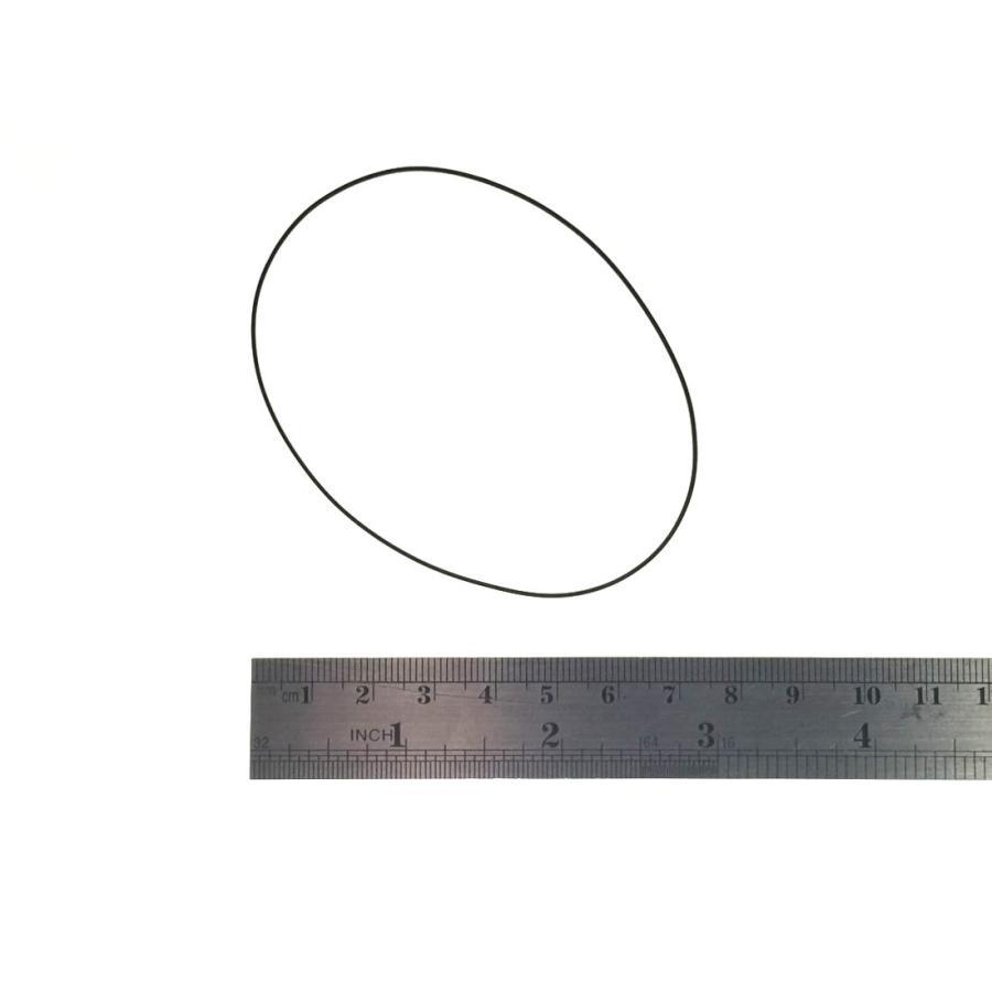 カセットデッキ/ポータブル・カセット修理パーツ 角ベルト 内径71mm 幅0.7mm 1本 駆動系消耗パーツ修理交換用 techspace 02
