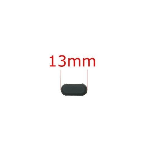 電子機器用 ゴム足 長丸型 粘着シール付き (4個セット) 13mm x 6mm 高さ3mm|techspace|04