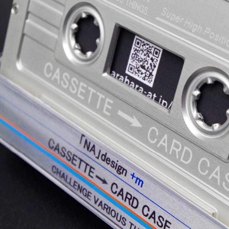 CASSETTE → CARD CASE[名刺入れ] techtbaco 06