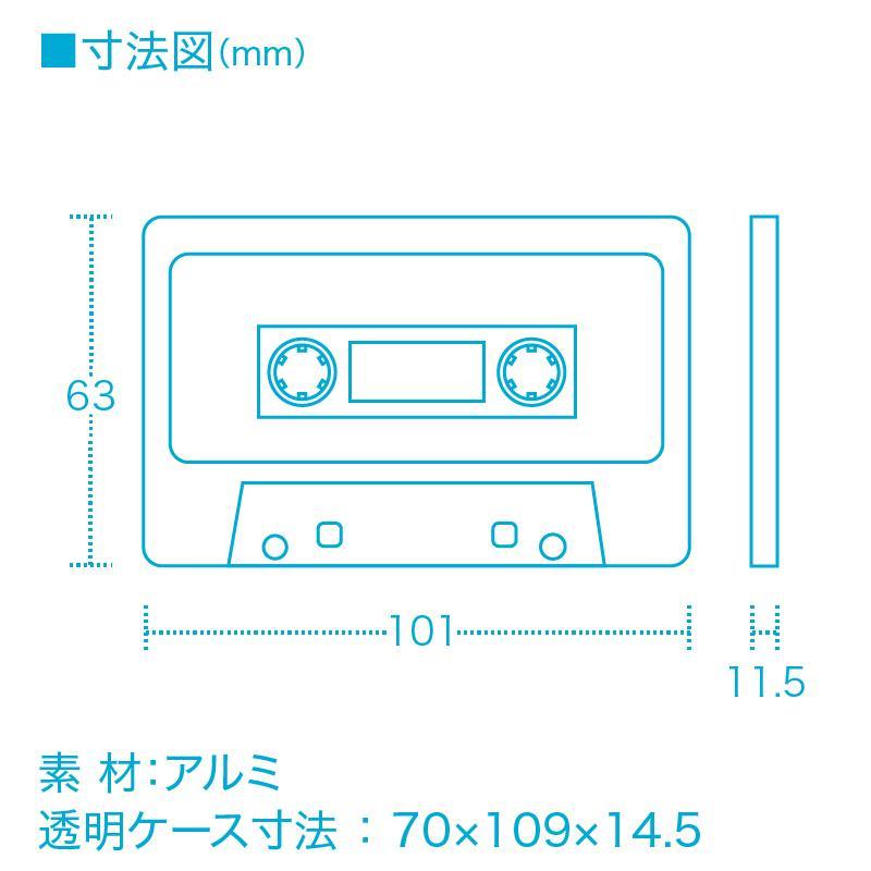 CASSETTE → CARD CASE[名刺入れ] techtbaco 07