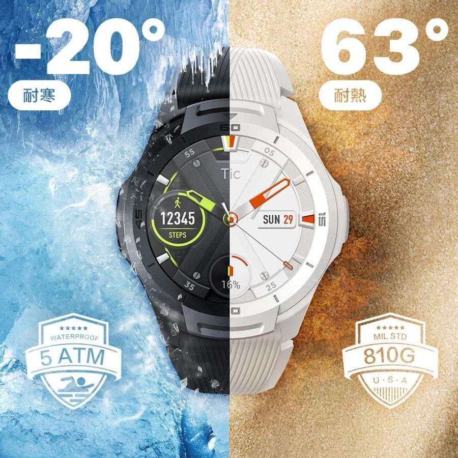 【GPS ゴルフナビ】 腕時計 スマートウォッチ Aiキャディ スマートゴルフナビ  (TicwatchS2 ブラック) tecraft-yshop 06