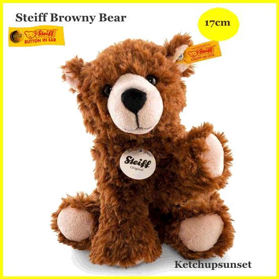 シュタイフ ブラウニー テディベア Steiff 褐色y Bear