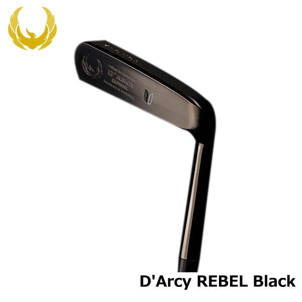 クロノス ターシー レベル ブラック D'Arcy REBEL 34インチ ゴルフパター
