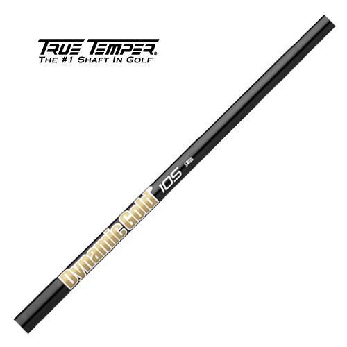 トゥルーテンパー ダイナミックゴールド 105 オニキス ブラック #5-PW 6本セット アイアンシャフト