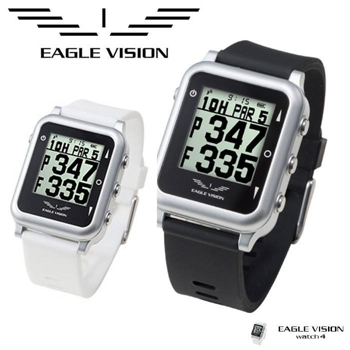 高性能GPS搭載距離測定器 EAGLE VISION watch 4 イーグルビジョンウォッチ4 ゴルフナビ