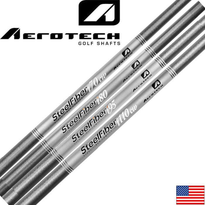 AEROTECH SteelFiber Iron Shafts 5-Pset(US)エアロテック スチールファイバー 5-P(6本セット)コンスタントウェイト アイアンシャフト