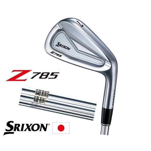SRIXON スリクソン Z785 アイアン 6本セット(5I〜PW) DG DST、NS950 DST、ダイナミックゴールド スチールシャフト 日本正規品