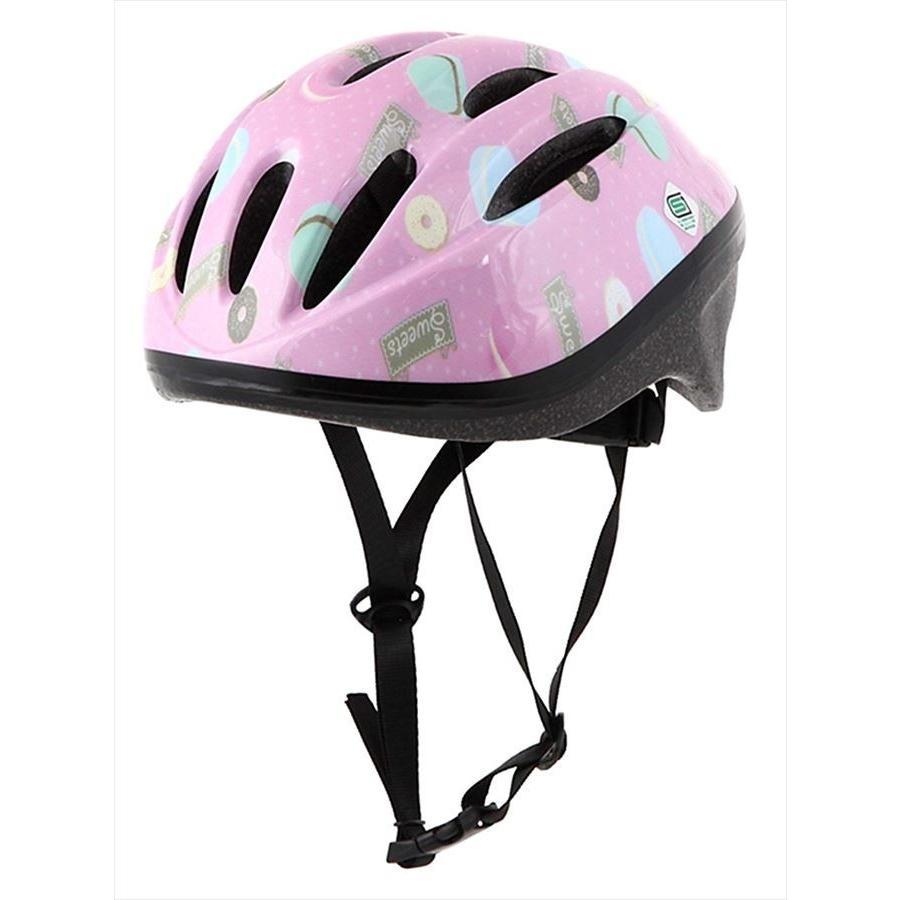 オリンパス ORINPAS    4960965964396 SG規格合格 子供用 自転車用ジュニアヘルメット OMV-10 スイート Mサイズ 52〜56cm ソフトシェル teito-shopping