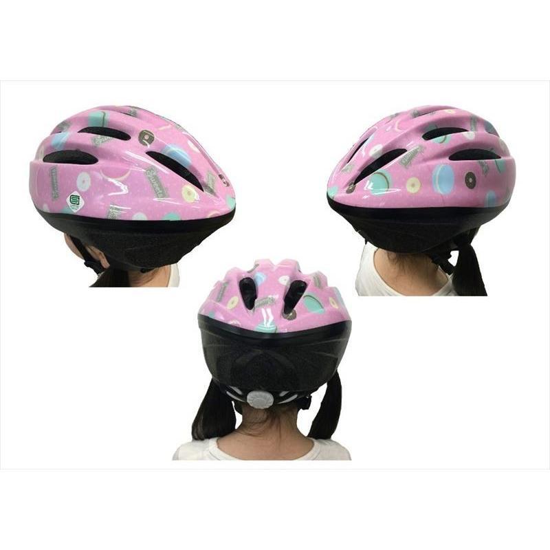 オリンパス ORINPAS    4960965964396 SG規格合格 子供用 自転車用ジュニアヘルメット OMV-10 スイート Mサイズ 52〜56cm ソフトシェル teito-shopping 05