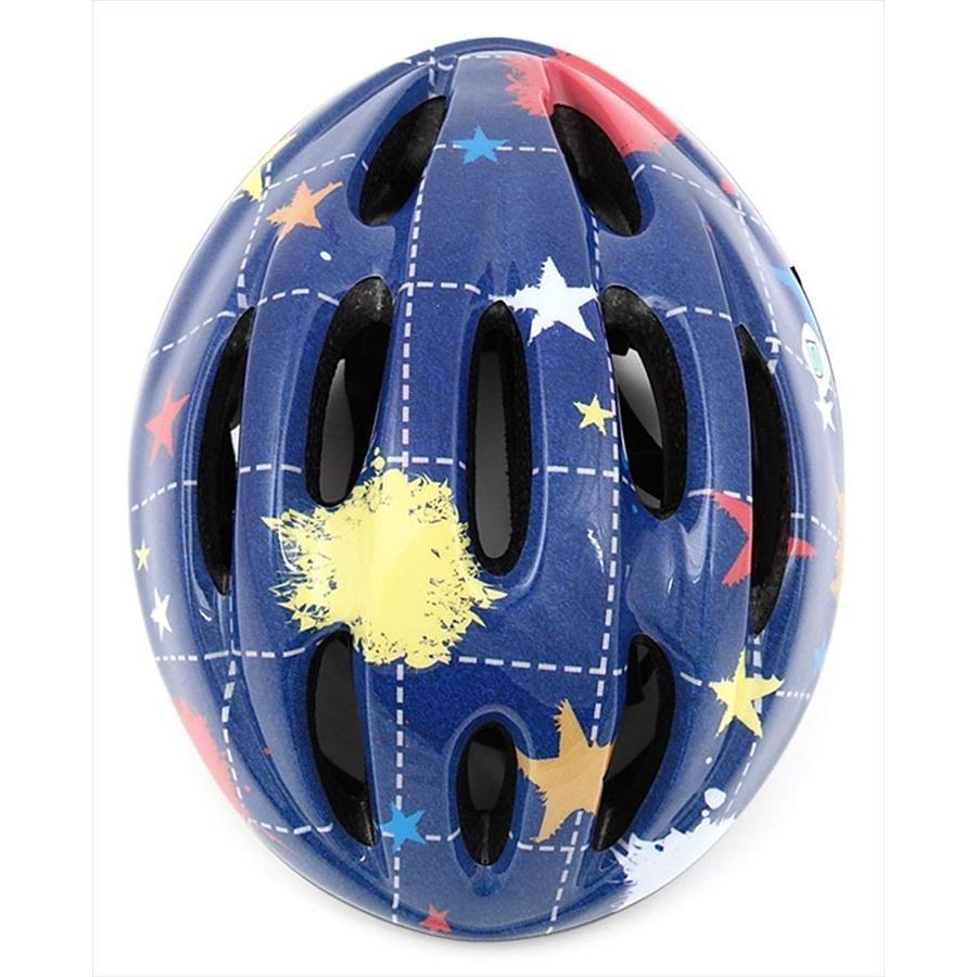 送料無料  オリンパス ORINPAS    4960965964396 SG規格合格 子供用 自転車用ジュニアヘルメット OMV-10 デニム Mサイズ 52〜56cm ソフトシェル  女|teito-shopping|02