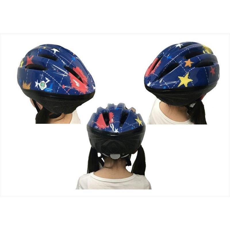 送料無料  オリンパス ORINPAS    4960965964396 SG規格合格 子供用 自転車用ジュニアヘルメット OMV-10 デニム Mサイズ 52〜56cm ソフトシェル  女|teito-shopping|05
