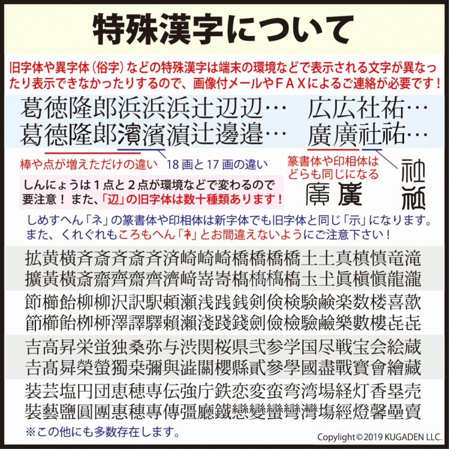 個人印鑑 チタン・ブラスト シルバー13.5mm(銀行印など) tekakiya 06