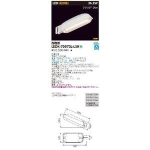LED防犯灯 東芝ライテック(TOSHIBA) LEDK-70973L-LS9 『LEDK70973LLS9』