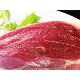 【モモ ブロック】天然ジビエ イノシシ肉 猪肉 国産 島根 1.0kg|tekeda
