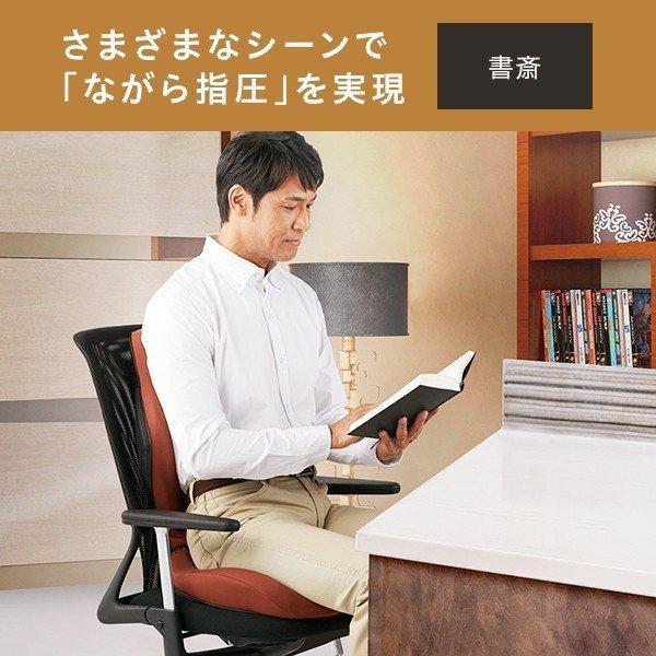指圧 スタイルシアツ Style SHIATSU 姿勢 椅子 クッション コリ あんま MTG 新聞掲載 テレマルシェ|telemarche28|11