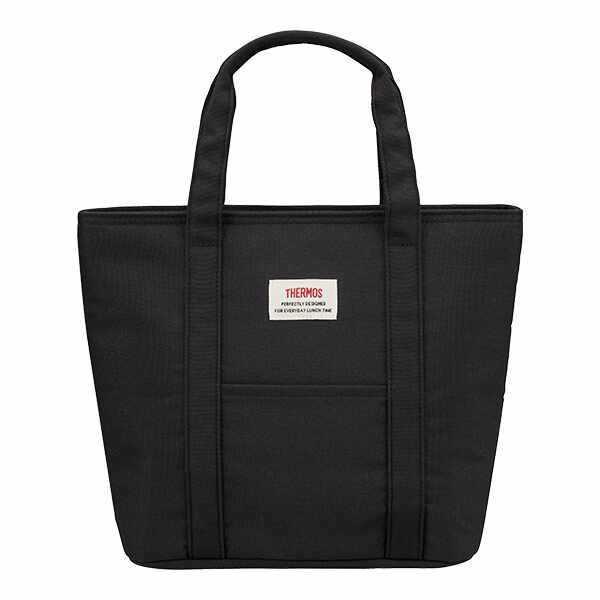 サーモス THERMOS 保冷ランチバッグ [容量:約7L] [カラー:ブラック] #REW-007-BK 【あすつく】|telemedia|02