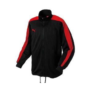 プーマ PUMA トレーニングジャケット #862220 [カラー:(06)グラファイト×赤] [サイズ:M]