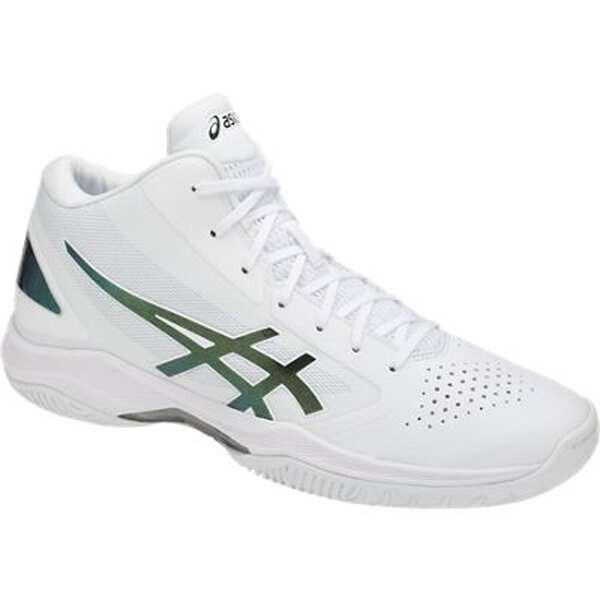 アシックス ASICS ゲルフープ V10 バスケットボールシューズ [サイズ:24.0cm] [カラー:ホワイト×プリズムグリーン] #TBF339-0186 GELHOOP V10