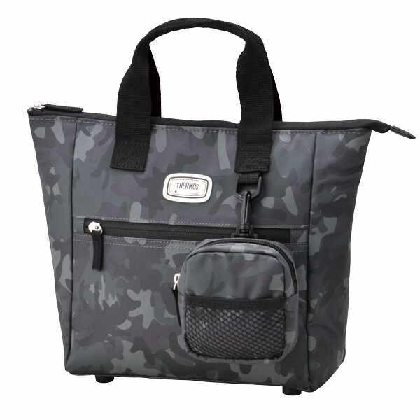 サーモス THERMOS 保冷ラウンドトートバッグ [容量:約4.8L] [カラー:ブラックカモフラージュ] #REN-001-BK-C Cool Tote Bag|telemedia|02