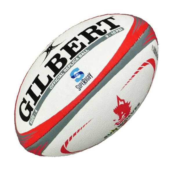 ギルバート GILBERT レプリカボール サンウルブズ ラグビーボール 4号球 #GB-9352