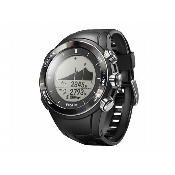 エプソン EPSON WristableGPS for Trek(リスタブルGPSフォートレック) MZ-500B GPSアウトドアウォッチ [カラー:ブラック] #MZ500B