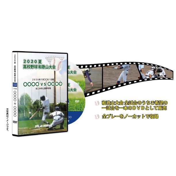 DVD−熱闘の軌跡 2020 夏 高校野球 和歌山大会 1回戦|telewaka-shop|03
