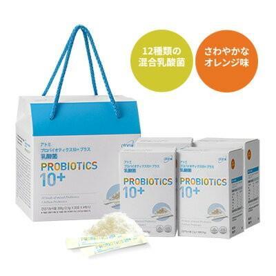 韓国コスメ Atom美 サプリメント アトミ 乳酸菌 4箱 (1set) ■栄養補助食品【何個買っても送料サイズA※】