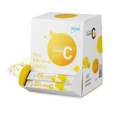 韓国コスメ Atom美 アトミ カラーフードビタミンC ■栄養補助食品【何個買っても送料サイズA※】