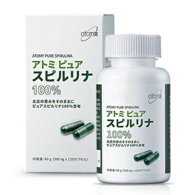韓国コスメAtom美 アトミ ピュアスピルリナ100% ■栄養補助食品【何個買っても送料サイズA※】