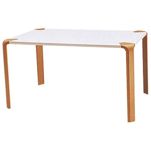 天童木工 テーブル T-2310ME-NT メラミン樹脂化粧板(ホワイト)